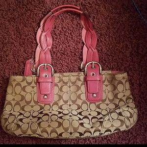 Perfect condition coach tote